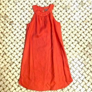 Cute linen dress!